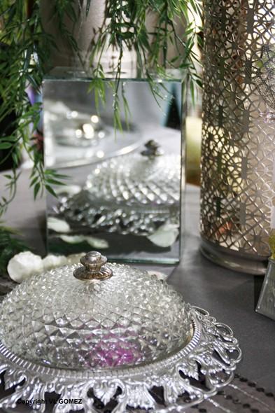 D coration maroc erika vauquelin table et d cor mariage - Suspension florale exterieure ...