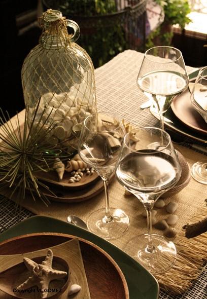 D coration plage table et d cor mariage erika vauquelin - Suspension florale exterieure ...