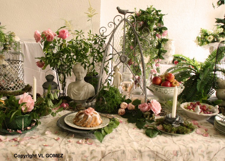 Labels deco mariage jardin anglais , decoration mariage jardin