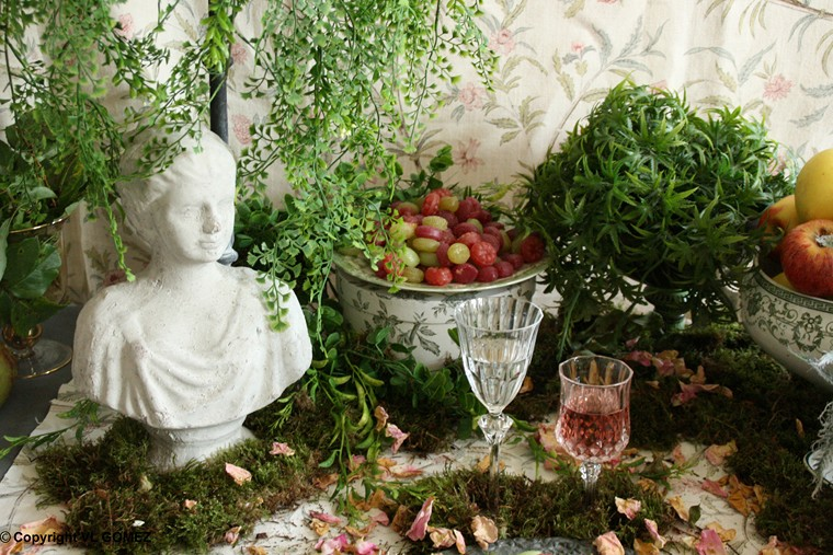 D coration mariage jardin anglais for Deco jardin anglais