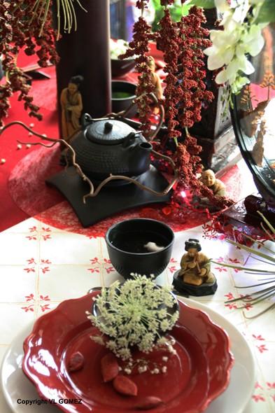 D coration nuit de chine table pour mariage erika vauquelin - Suspension florale exterieure ...