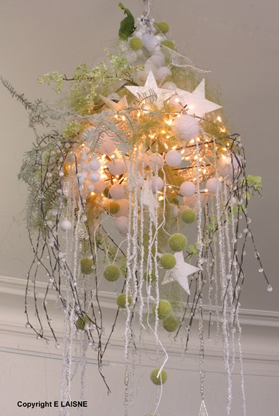 Decoration de noel suspension - Decoration table de noel pas cher ...