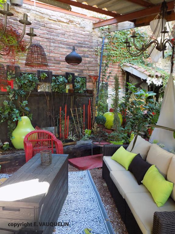 D coration ext rieure outdoor d co jardin paysage for Deco exterieur jardin